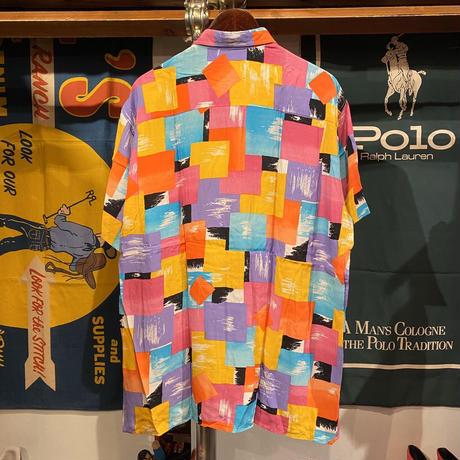 Warden Paris colorful shirt