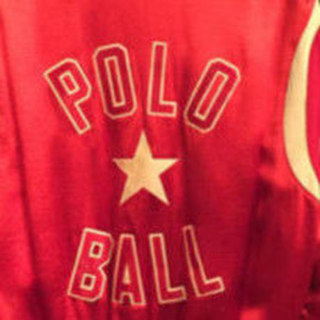 POLO RALPH LAUREN satin stadium jacket