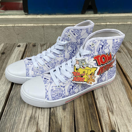 """""""Tom and Jerry"""" hight cut sneaker (25cm)"""