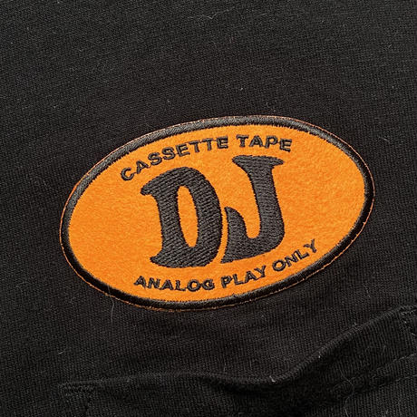HIGHPOSI DJ wappen pocket tee (XL)