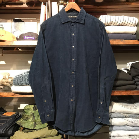 POLO RALPH LAUREN Black Label corduroy shirt (M)