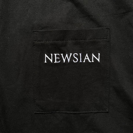 NEWSIAN logo pocket tee