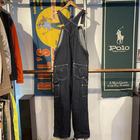 【web限定】LEVI'S RED OVERALL TILL I GET MY WAY (L)