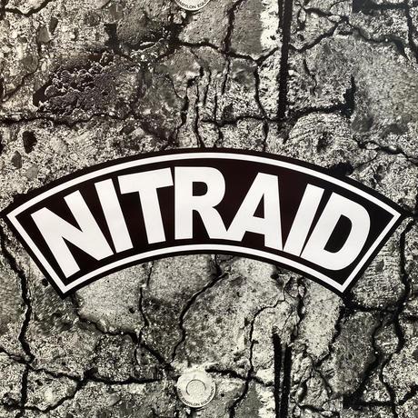 "NITRAID ""ARCH"" A2 stone poster"