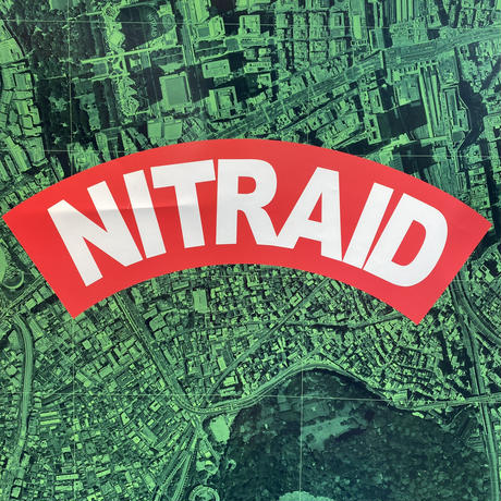 "NITRAID ""CITY MASK""  poster"