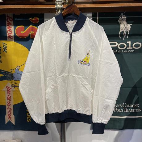tupfer half-zip nylon jacket (M)