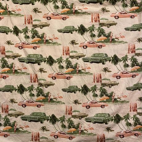 DECIBEL car pattern pocket shirt (XL)
