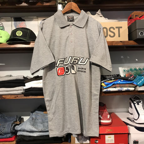 【Dead Stock】FUBU SPORT DIVISION polo shirt (S)