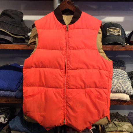 hunting REVERSIBLE DOWN  vest(M)