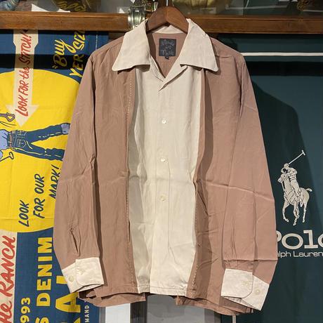 Made in push design open collar shirts (3)