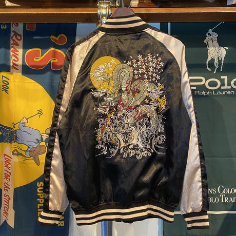 鏡花水月 embroidery souvenior jacket (LL)