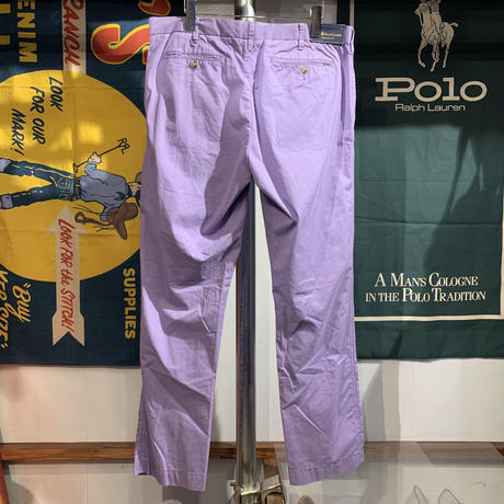 Polo Ralph Lauren straight fit pants(34/32)  (新古品)