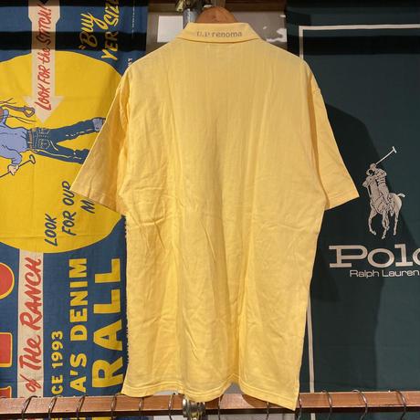 U,P renoma collar logo polo shirt (LL)