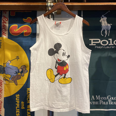 "DISNEY DESIGNS ""MICKEY"" tanktop (M)"