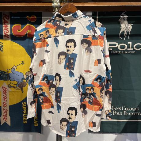 AOMI faces poly shirt (M)