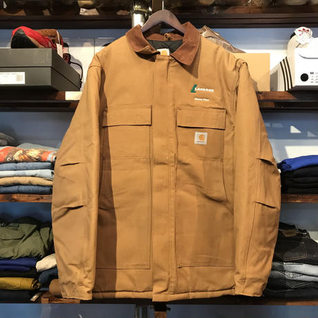 Carhartt company duck quilting jacket