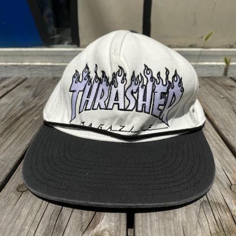 THRASHER bi-color snapback