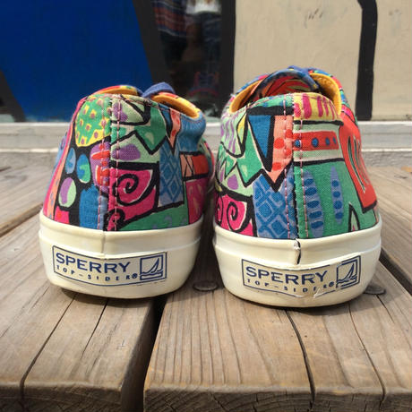 SPERRY TOP-SIDER art collage sneaker (26.5cm)
