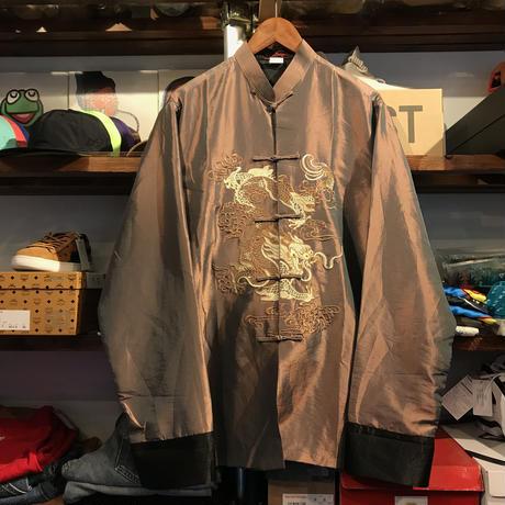 Silver Dragon Chinese shirt (XL)