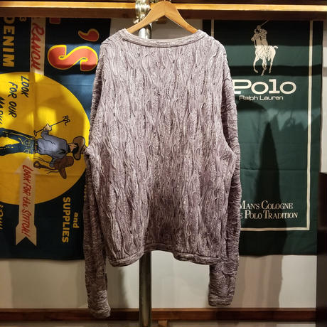 COOGI BASICS mono 3D knit sweater (L)