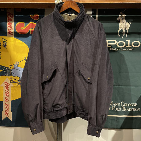 Troy Bron poly bomber jacket (LL)