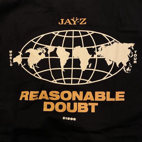 ROC-A-FELLA JAY-Z reasonable doubt world tour tee (L)