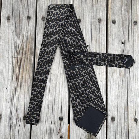 """GUCCI """"G"""" pattern tie"""