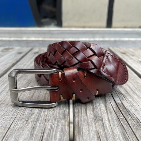 no brand lether mesh belt