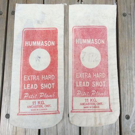 HUMMASON EXTRA HARD LEAD SHOT 11KG CANVAS BAG