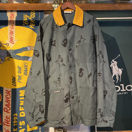 THE BLACK EYE PATCH GASIUS DUCK JACKET (XL)