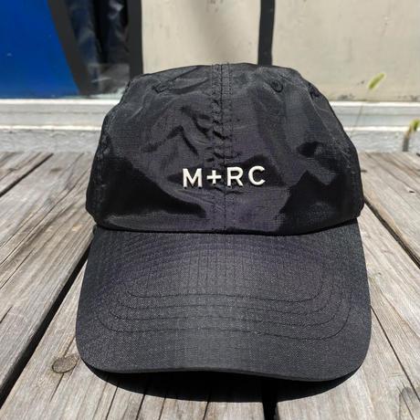 M+RC NOIR logo nylon velcro cap