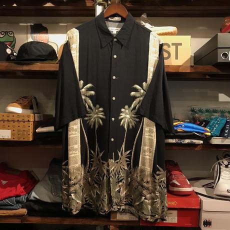 pierre cardin Palm Trees Hawaian shirt (L)