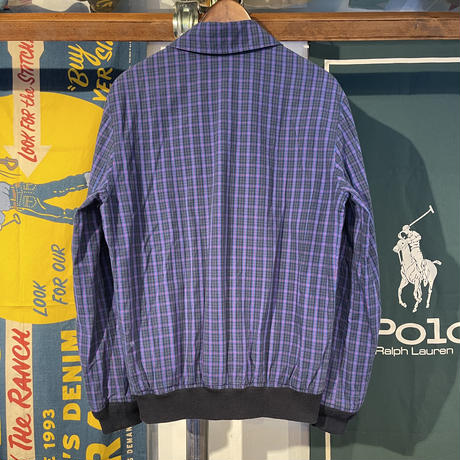 A.P.C Zip-up Check Jacket (S)