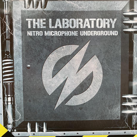 "NITRO MICROPHONE UNDER GROUND ""THE LABORATORY"" B3 poster"