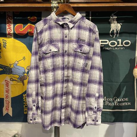 Columbia Warfighters cotton check shirt (L)