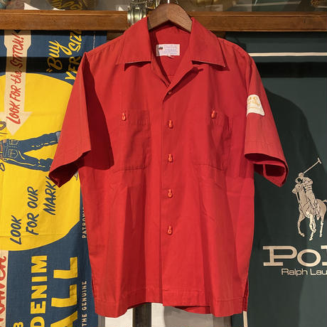 Switch bowling open collar shirts (M)