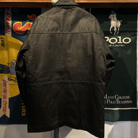RED SKINS fake leather coat