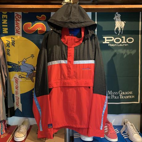 TOMMY HILFIGER athletic gear half zip jacket(XL)
