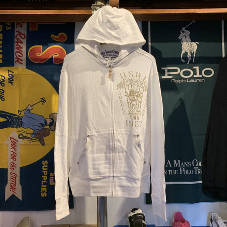 Polo Jeans Company  Cotton zipup hoodie (L)