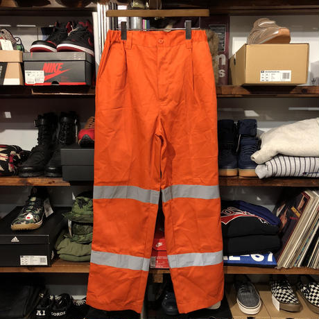 nobrand reflector safety work pants (L)
