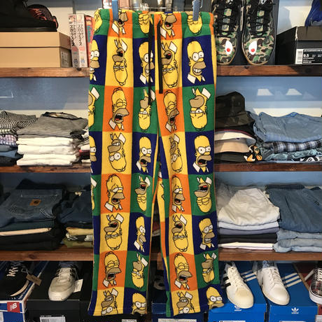 "The Simpsons ""Homer"" freece pants (M)"
