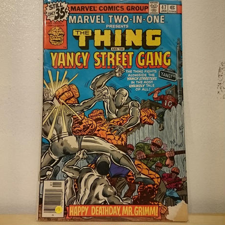 "MARVEL COMICS""THE THING""(12)"