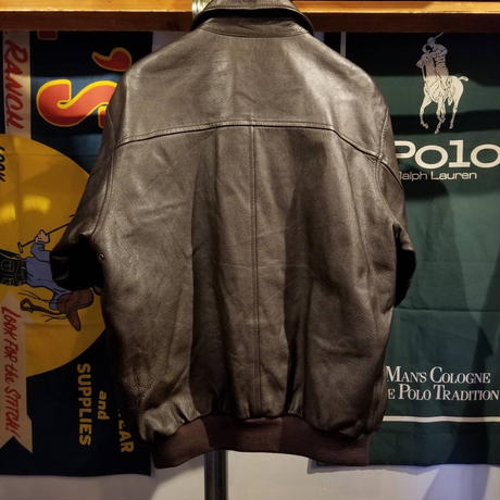 L.L.Bean leather jacket (M)