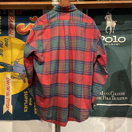 L.L. Bean check shirt (L)