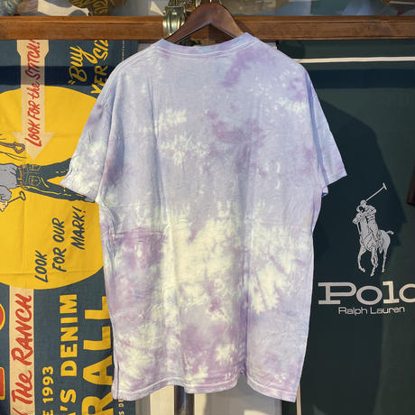 GILDAN body tie-dye dyeing tee (L)