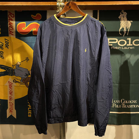 POLO RALPH LAUREN small pony nylon pullover(XL)