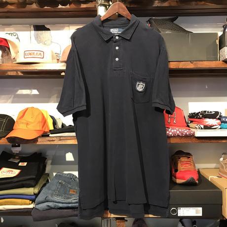 POLO RALPH LAUREN emblem polo shirt (XL)
