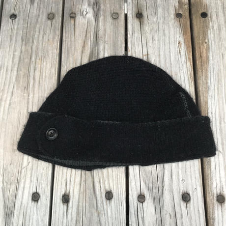 RRL merino wool ear pad knit cap