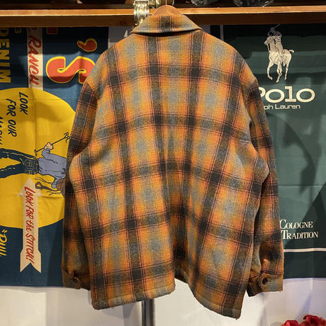 Tomme wool check jacket (L)