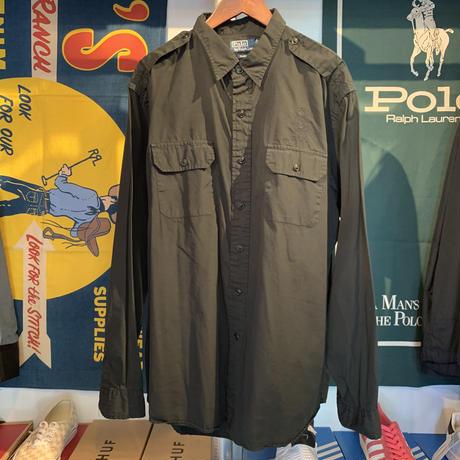 POLO RALPH LAUREN classic fit pocket  shirt (XL)